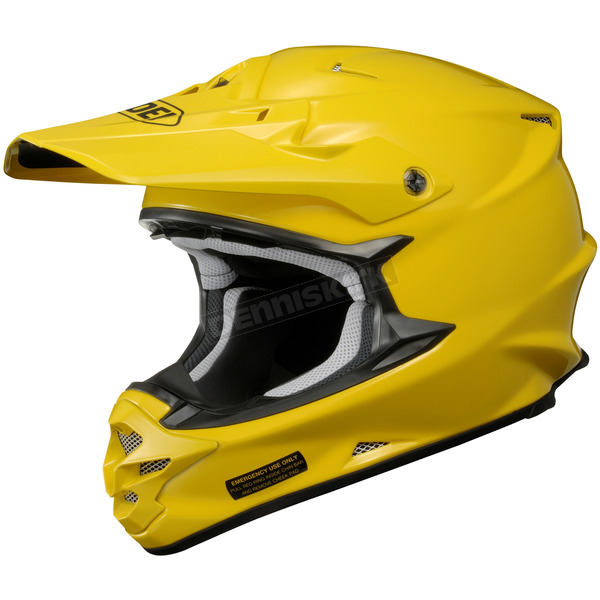 Shoei Helmets Brilliant Yellow VFX-W Helmet - 0145-0123-06