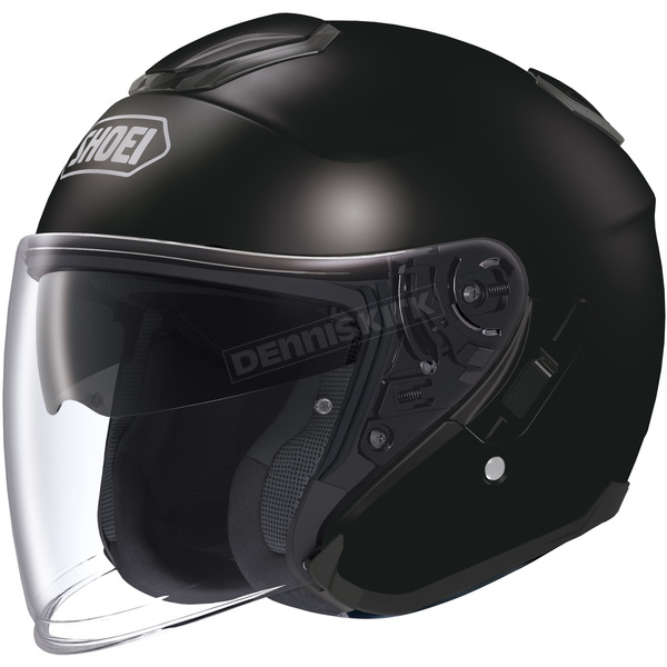 Shoei Helmets Black J-Cruise Helmet - 0130-0105-06