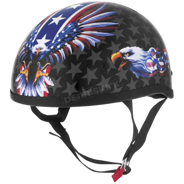 Skid Lid USA Flame Eagle Original Half Helmet - 646988
