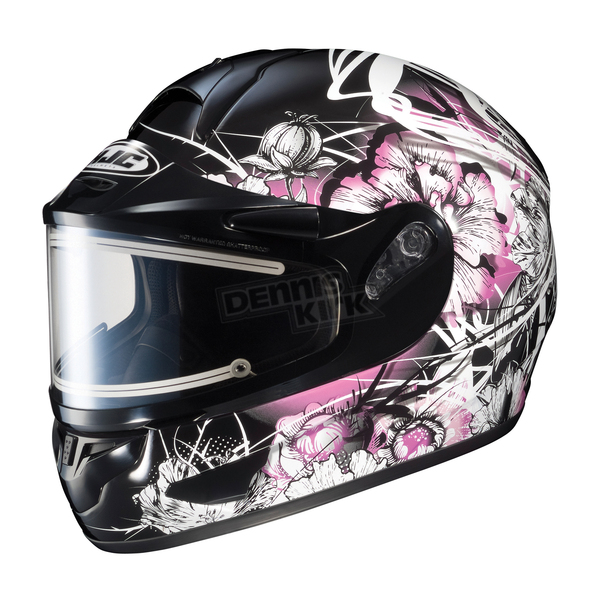 HJC Black/Pink/White CL-16SN Virgo Helmet w/Electric Shield - 121-986