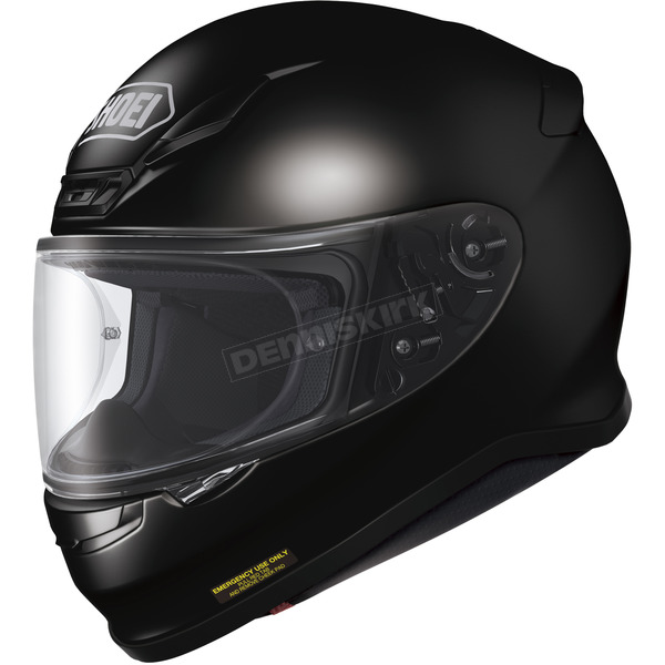 Shoei Helmets Black RF-1200 Helmet - 0109-0105-04