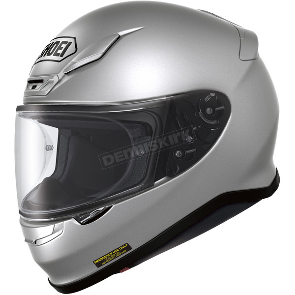 Shoei Helmets Light Silver RF-1200 Helmet - 0109-0107-08