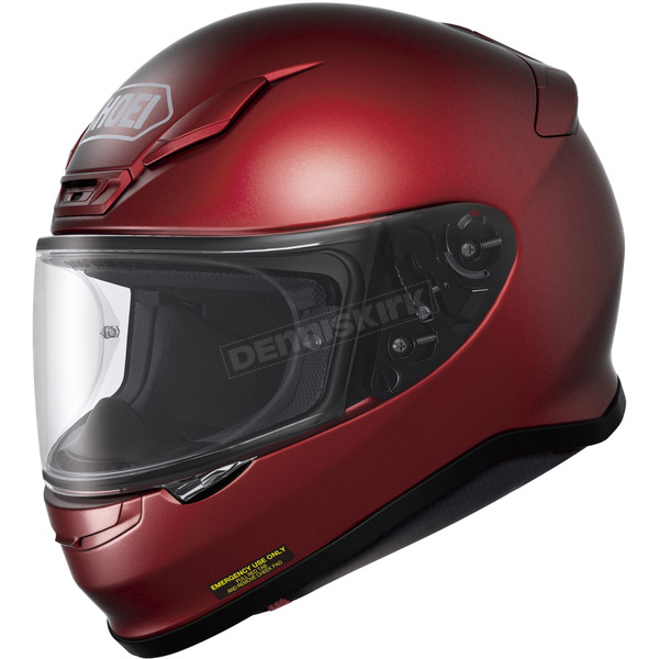 Shoei Helmets Wine Red RF-1200 Helmet - 0109-0111-03