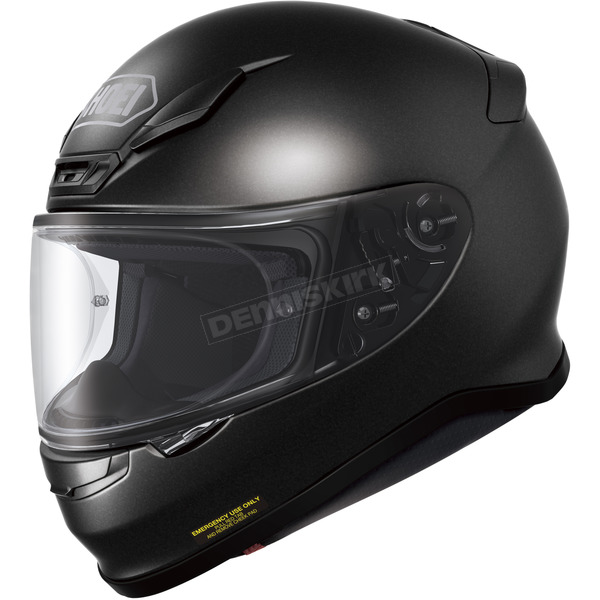 Shoei Helmets Black Metallic RF-1200 Helmet - 0109-0115-05