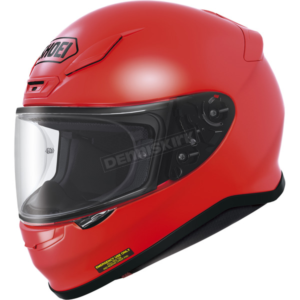 Shoei Helmets Shine Red RF-1200 Helmet - 0109-0131-04