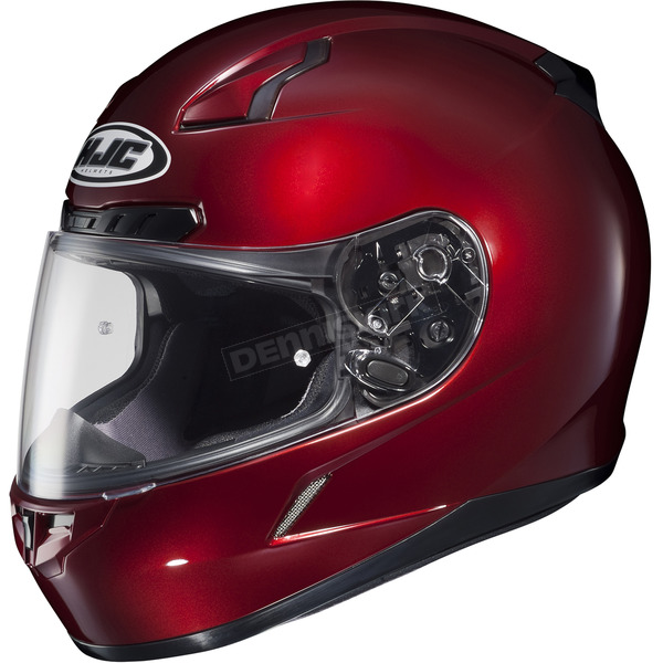 HJC Metallic Wine CL-17 Helmet - 824-266