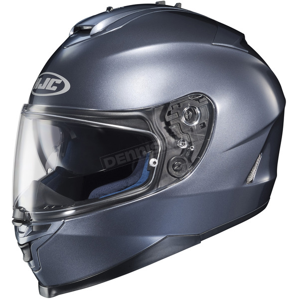 HJC Metallic Anthracite IS-17 Helmet - 582-562