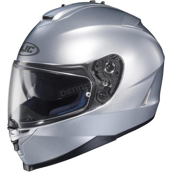 HJC Metallic Silver IS-17 Helmet - 582-573