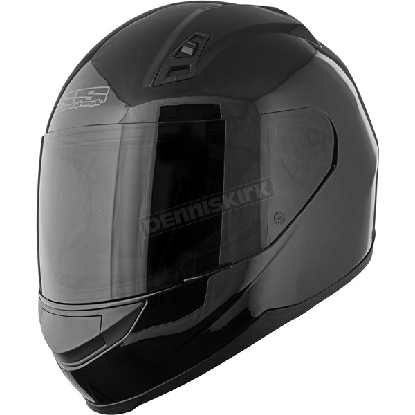Speed and Strength Gloss Black SS700 Solid Speed Helmet - 87-6836