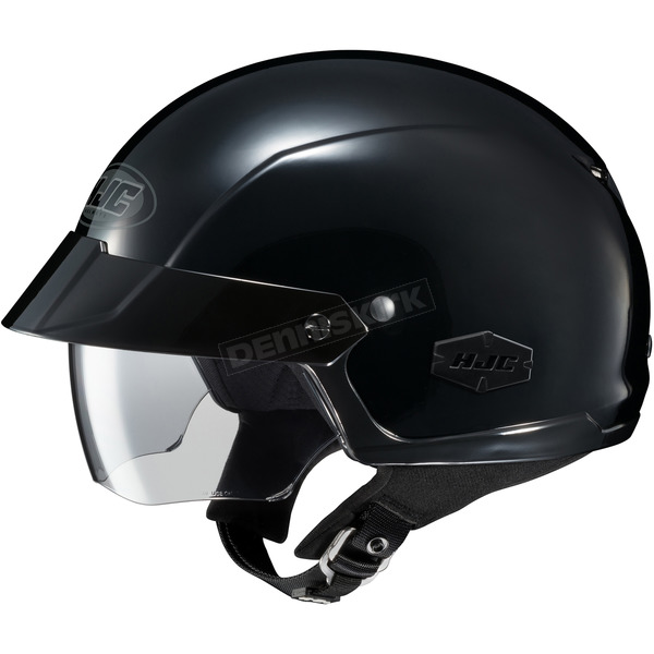 HJC Black IS-Cruiser Half Helmet  - 488-603