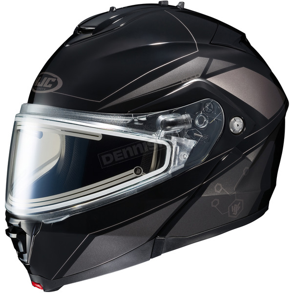 HJC Black/Dark Silver/Silver IS-MAX 2 MC-5 Elemental Helmet w/Electric Shield - 185-952