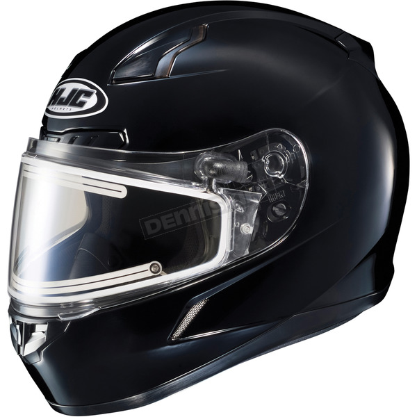 HJC Black CL-17SN Helmet w/Frameless Electric Shield - 57-28909