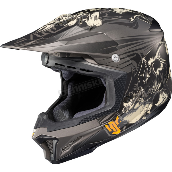 HJC Black/Gray/White MC-5F CL-X7 El Lobo Helmet - 57-1152