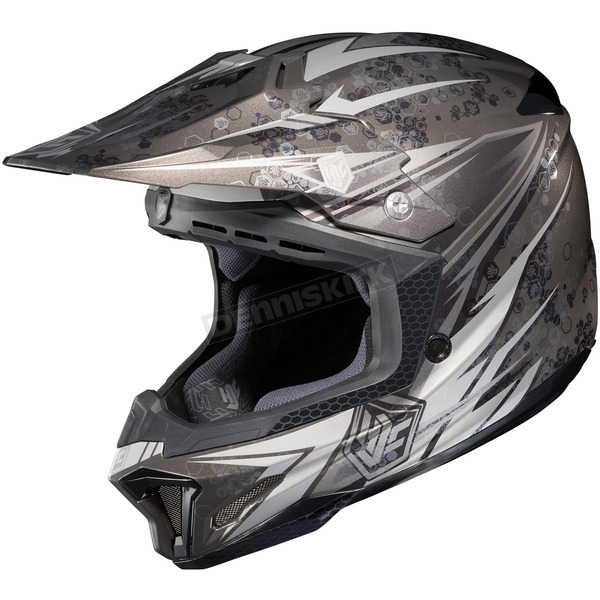 HJC Black/Gray/White MC-5 CL-X7 Pop 'N Lock Helmet - 744-956