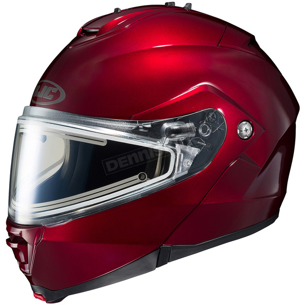 HJC Wineberry IS-Max 2 Snowmobile Helmet w/Electric Shield - 181-265