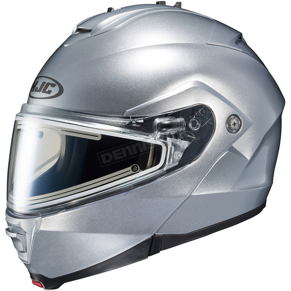 HJC Silver IS-Max 2 Snowmobile Helmet w/Electric Shield - 181-574