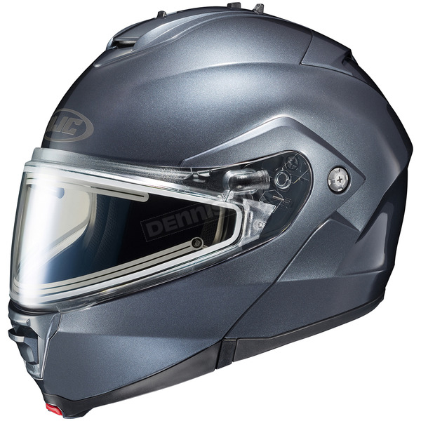 HJC Anthracite IS-Max 2 Snowmobile Helmet w/Electric Shield - 181-565