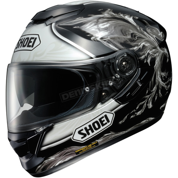 Shoei Helmets Black/Gray GT-Air Revive TC-5 Helmet - 0118-1505-04