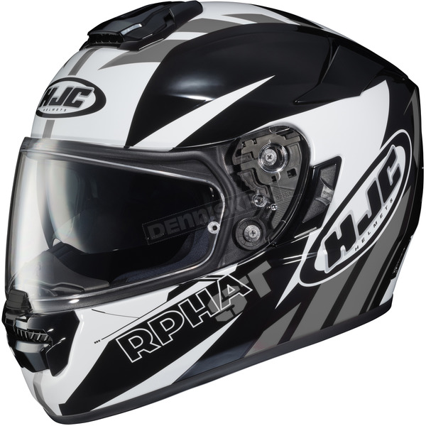 HJC Black/White/Gray RPHA ST MC-5 Rugal Helmet - 1604-955