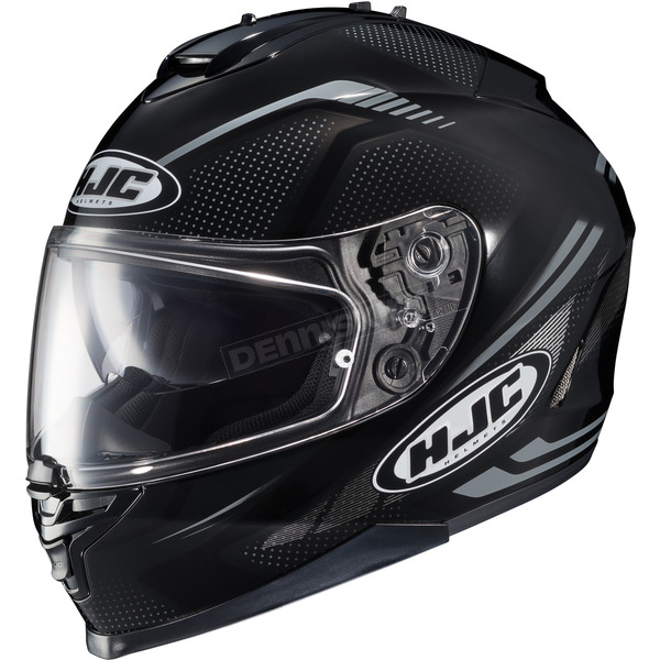 HJC Black/Gray IS-17 MC-5N Spark Helmet - 58-4958