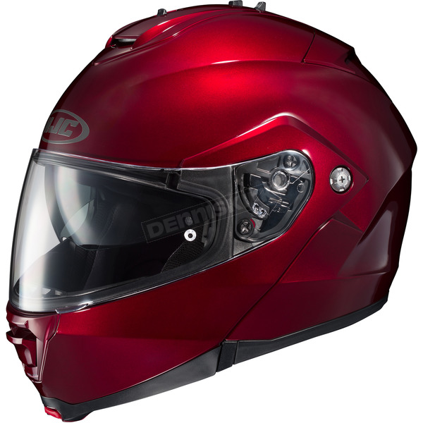 HJC Metallic Wine IS-MAX II Modular Helmet - 980-263