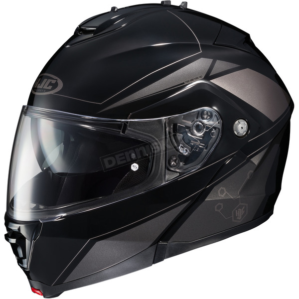 HJC Black/Gray IS-MAX II MC-5 Elemental Modular Helmet - 984-951