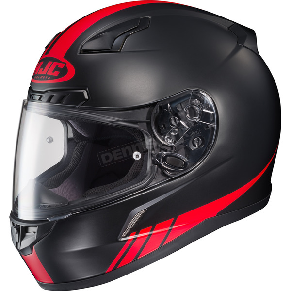 HJC Black/Red CL-17 MC-1F Streamline Helmet - 838-816