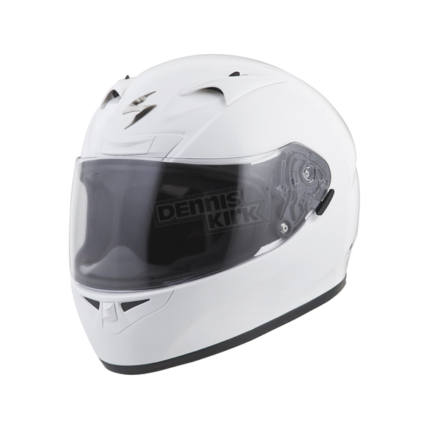 Scorpion White EXO-R710 Helmet - 71-0055