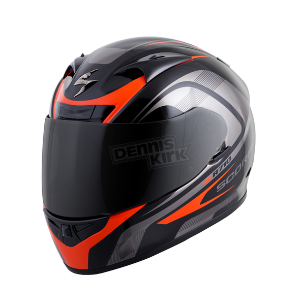 Scorpion Black/Red EXO-R710 Focus Helmet - 71-2025