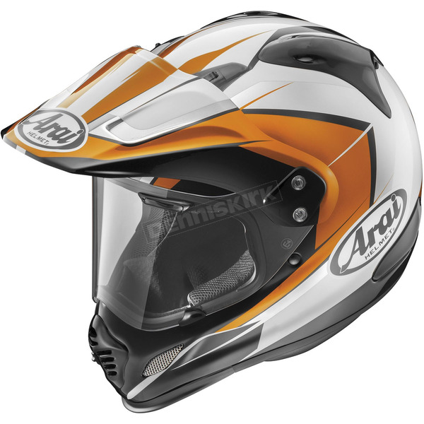 Arai Helmets Orange/White/Black XD4 Flare Helmet - 812180