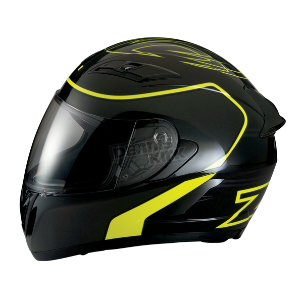 Z1R Black/Hi Viz Yellow Strike Ops Helmet - 0101-7953