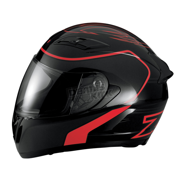 Z1R Black/Red Strike Ops Helmet - 0101-7959