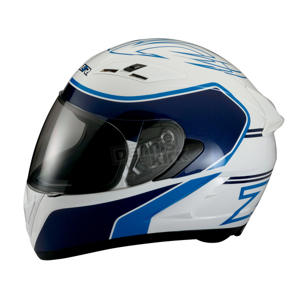 Z1R White/Blue Strike Ops Helmet - 0101-7976