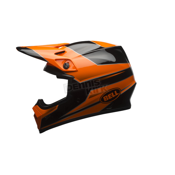 Bell Helmets Orange/Black MX-9 Stryker Mips Helmet - 7080825
