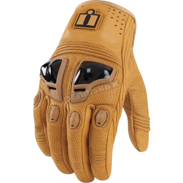 Icon Tan Justice Leather Gloves - 3301-1567
