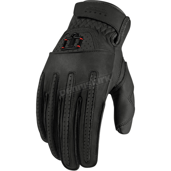 Icon 1000 Black Rimfire™ Gloves - 3301-1616
