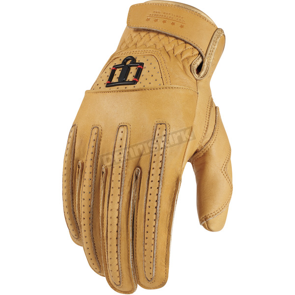 Icon 1000 Tan Rimfire Gloves - 3301-1630