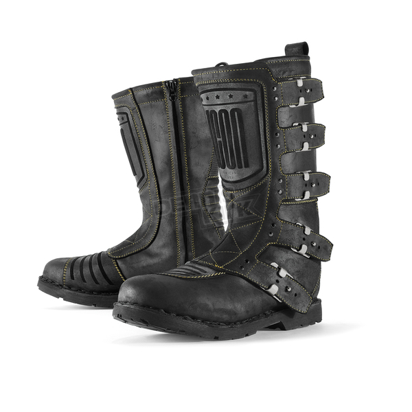 Icon Black Elsinore Boots - 3403-0296