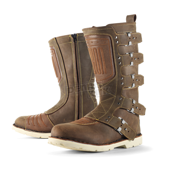 Icon Brown Elsinore Boots - 3403-0312