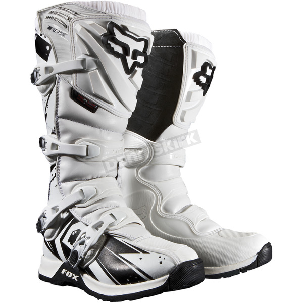 Fox White Comp 5 Undertow Boots - 05051-008-10