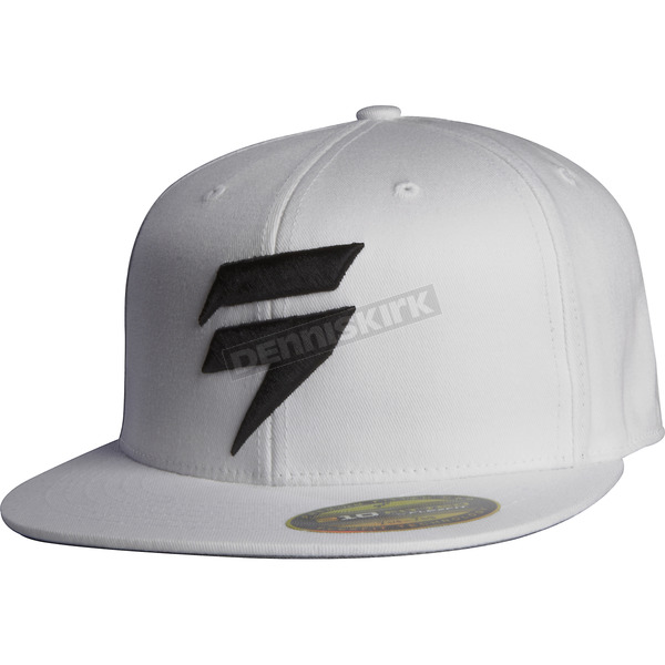 Shift White Barbolt Hat - 68300-008-L/XL