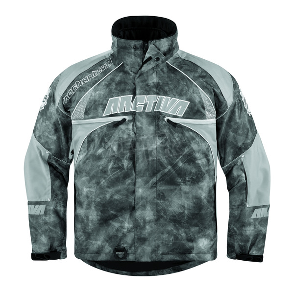 Arctiva Black/Camo Mechanized 5 Jacket - 3120-0935