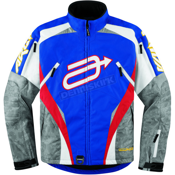 Arctiva Blue/Red Comp 7 RR Jacket - 3120-1001