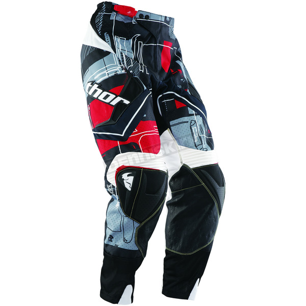 Thor Flux Circuit Red Pants - 2901-3798