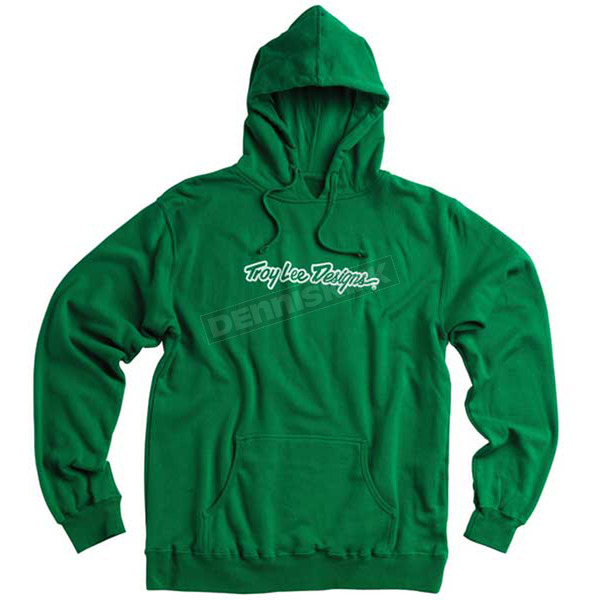 Troy Lee Designs Green Signature Hoody - 3430-3910