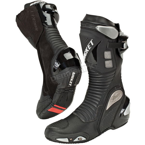 Joe Rocket Black Speedmaster 3.0 Boots - 1257-0095