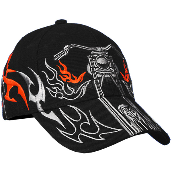 Hot Leathers Tribal Bike Hat - BCA1024