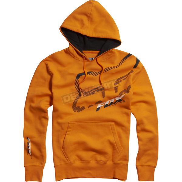 Fox Day Glo Orange Cramped Hoody - 02221-267