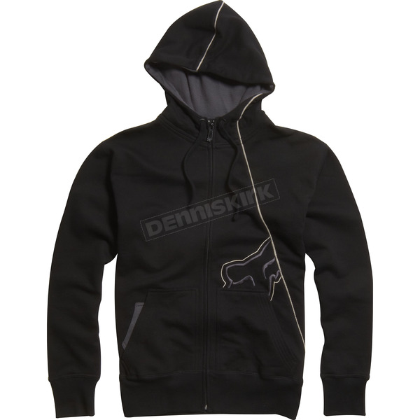 Fox Black RPM Zip Hoody - 02148-001-L