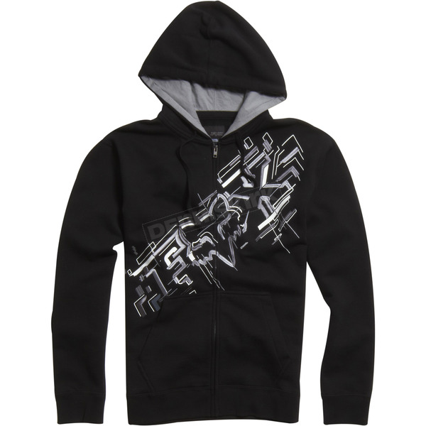 Fox Black Schematica Zip Hoody - 02224-001